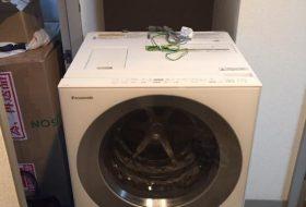 練馬区にて洗濯機の取り付け依頼を頂きました