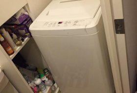 渋谷区にて洗濯機の取り付け依頼を頂きました