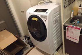 文京区にて洗濯機の取り付け依頼を頂きました