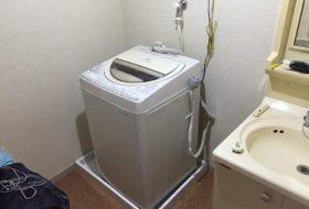 川崎市宮前区にて洗濯機の取り付け依頼を頂きました。
