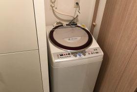 東京都小金井市にて洗濯機の取り付け依頼を頂きました
