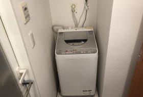 武蔵野市吉祥寺にて洗濯機の取り付け依頼を頂きました