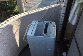 川崎区にて洗濯機の取り付け依頼を頂きました