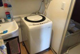 横浜市鶴見区にて洗濯機の取り付け依頼を頂きました