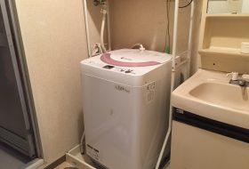 北区にて洗濯機の取り付け依頼を頂きました