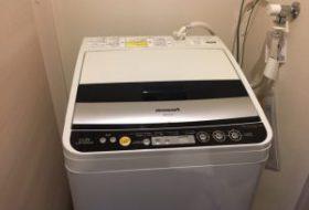 東京都調布市にて洗濯機の取り付け依頼を頂きました