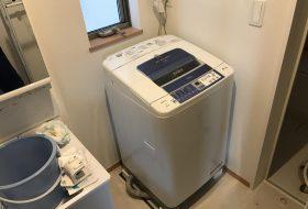 横浜市磯子区にて洗濯機の取り付け依頼を頂きました