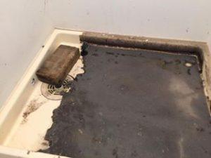 東京都大田区で洗濯機の排水口つまりを修理してきました