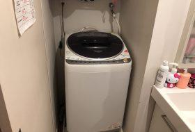 東京都練馬区で洗濯機排水口のつまりを修理してきました