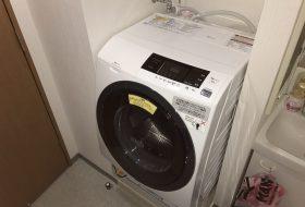 東京都江戸川区で洗濯機排水口のつまりを修理してきました