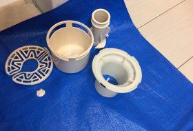 東京都豊島区で洗濯機排水口のつまりを修理してきました