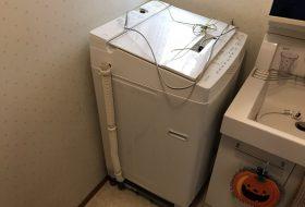 東京都板橋区で洗濯機排水口のつまりを修理してきました