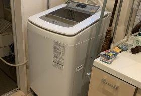 横浜市旭区で洗濯機の蛇口の水漏れ修理をしてきました